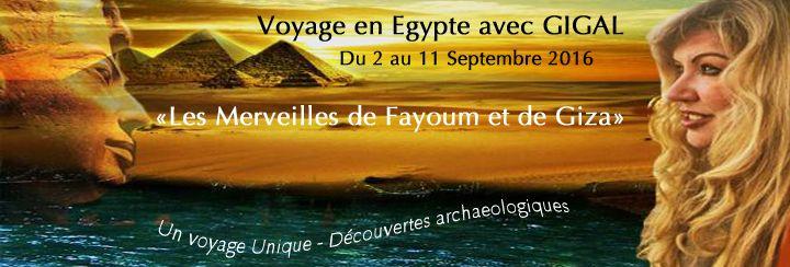.:MERVEILLES Pharaoniques de Fayoum et GIZA avec GIGAL