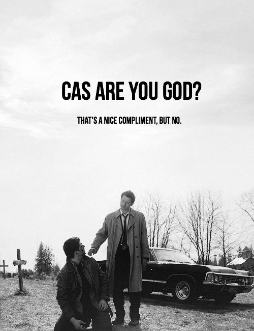 Though I do believe he was the one who brought me back, new and improved… #spn