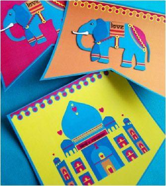 Fanions Guirlande Bollywood - Kit Printables & Décorations DIY à Imprimer