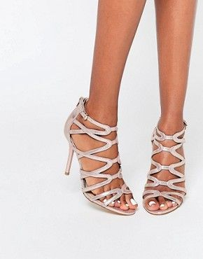 head over heels by dune à talons hauts pewter