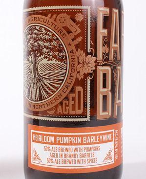 Almanac Beer Company pumpkin label