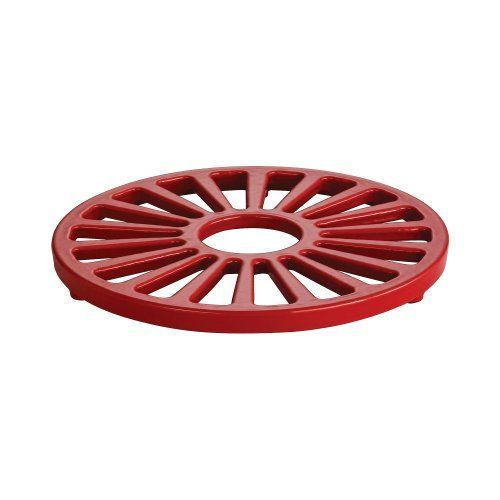 Tramontina Enameled Cast Iron Round Trivet 7Inch Gradated Red >>> Read more reviews of the product by visiting the link on the image.