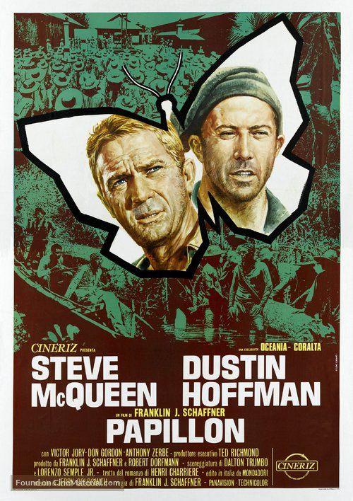 Papillon - Italian Movie Poster