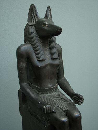 jackal headed anubis, god of embalming