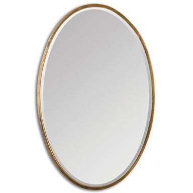 12894 Herleva Oval Mirror W 18 H 28