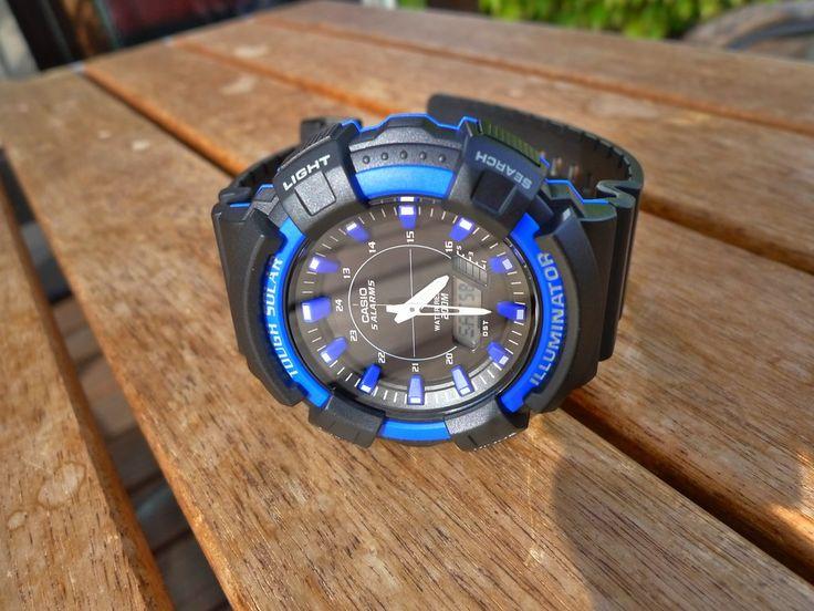 [TimeMob] Relógio Casio Masculino Tough Solar (Bateria Solar) R$186,62 - 3 modelos