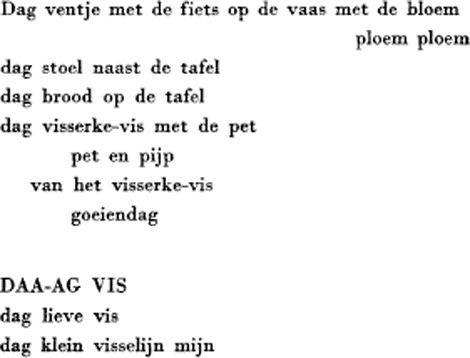 Marc groet 's morgens de dingen - Paul van Ostaijen