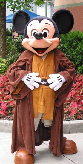 Jedi Mickey! Disney hosts Star Wars weekends throughout the year!