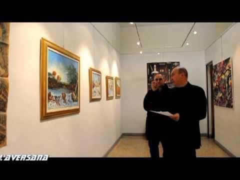 Artista Pietro Dell'Aversana, Mostra di pittura, Galleria Immagini Spazi...