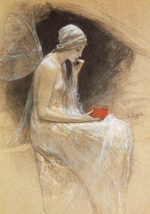 Psyche - Nikolaos Gyzis (1842-1901).
