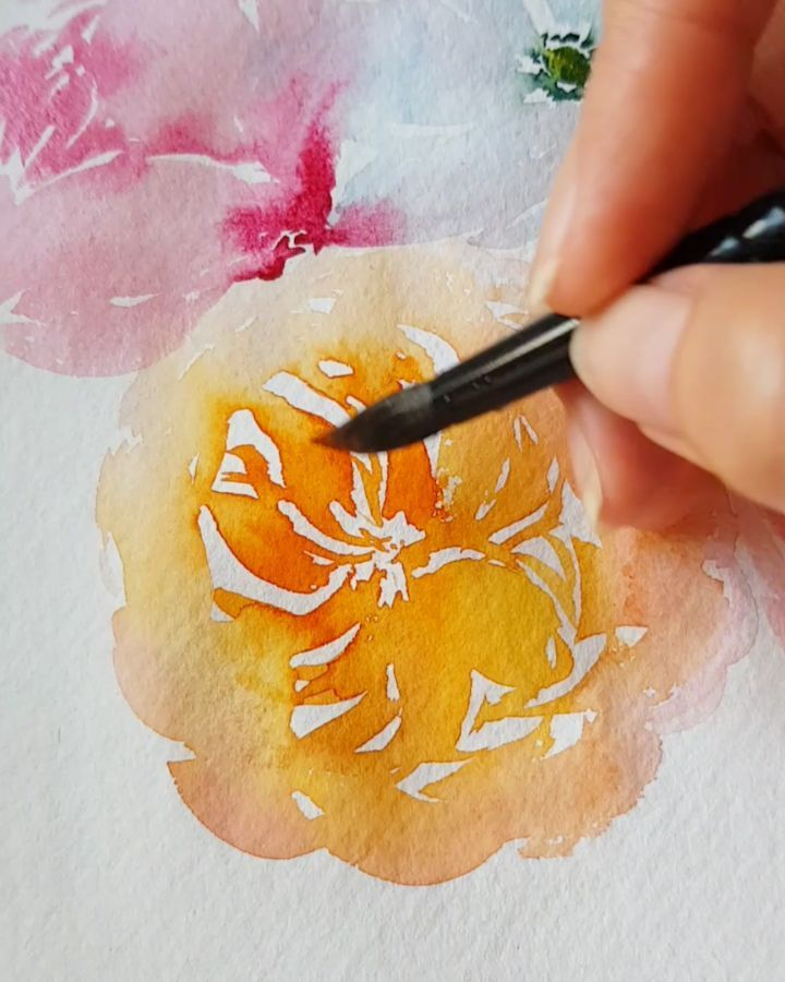 Joly Watercolor Artist Jolypoa Instagram Photos And Videos