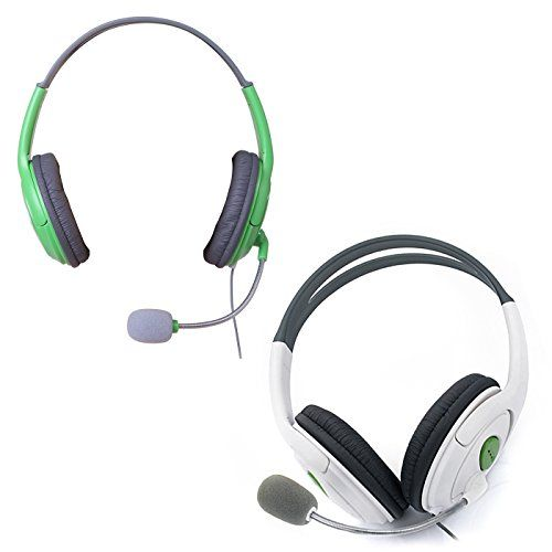 HDE 2 Pack Gaming Chat Headphones Headsets with Microphone Mic for Xbox 360 Live (Green & White) [Xbox 360]   http://ibestgadgets.com/product/hde-2-pack-gaming-chat-headphones-headsets-with-microphone-mic-for-xbox-360-live-green-white-xbox-360/   #gadgets #electronics #digital #mobile