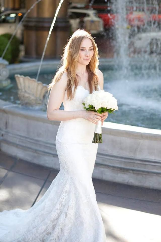 One Of Our Beautiful Brides Rosie Marcel At Her Las