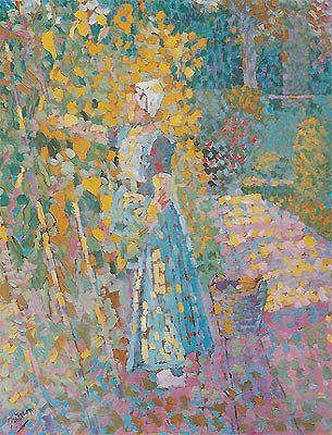 Beanpicker, Jan Toorop 1909
