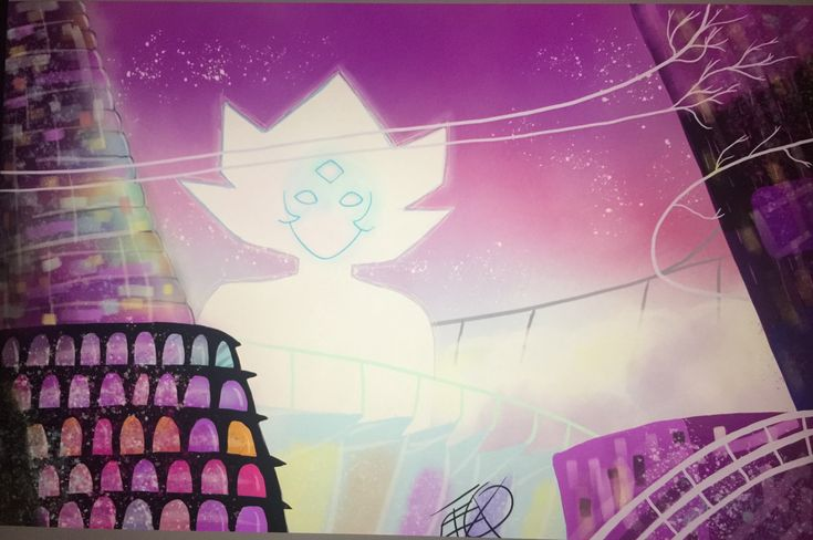 Homeworld redraw- Steven universe