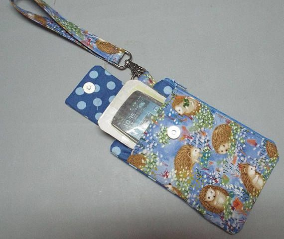 Womens Wristlet Wallet or Small Bag Smart Phone Wallet