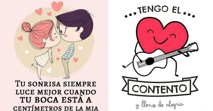 Hoy nos sentimos románticos y compartimos con vosotros algunas frases de amor. ¡Viva San Valentín!