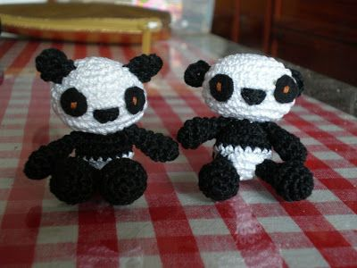 Oso Panda Amigurumi Patron Gratis : 136 best amigurumis images on pinterest crochet ideas crochet