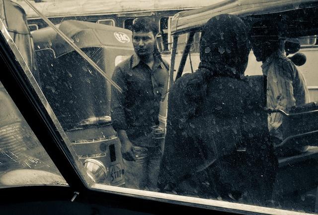 Through The Auto Rickshaw Window by Arun Shah Masood, via Flickr