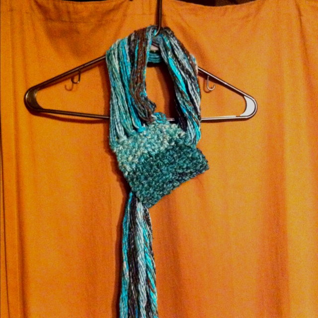 """Necks Big Thing Scarf"": Ties Were, Things Scarfs, Crochet Projects, Big Things, Neck Big,  Bolo,  Bola Ties"