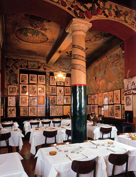 """""""Some of the best meals I've ever had were at the restaurant Bagutta in Milan."""" - David Rockwell, AD100 architect and designer"""