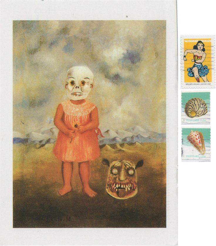 US-4897700 - Arrived: 2017.10.02   ---Girl with Death Mask by Frida Kahlo (1938)