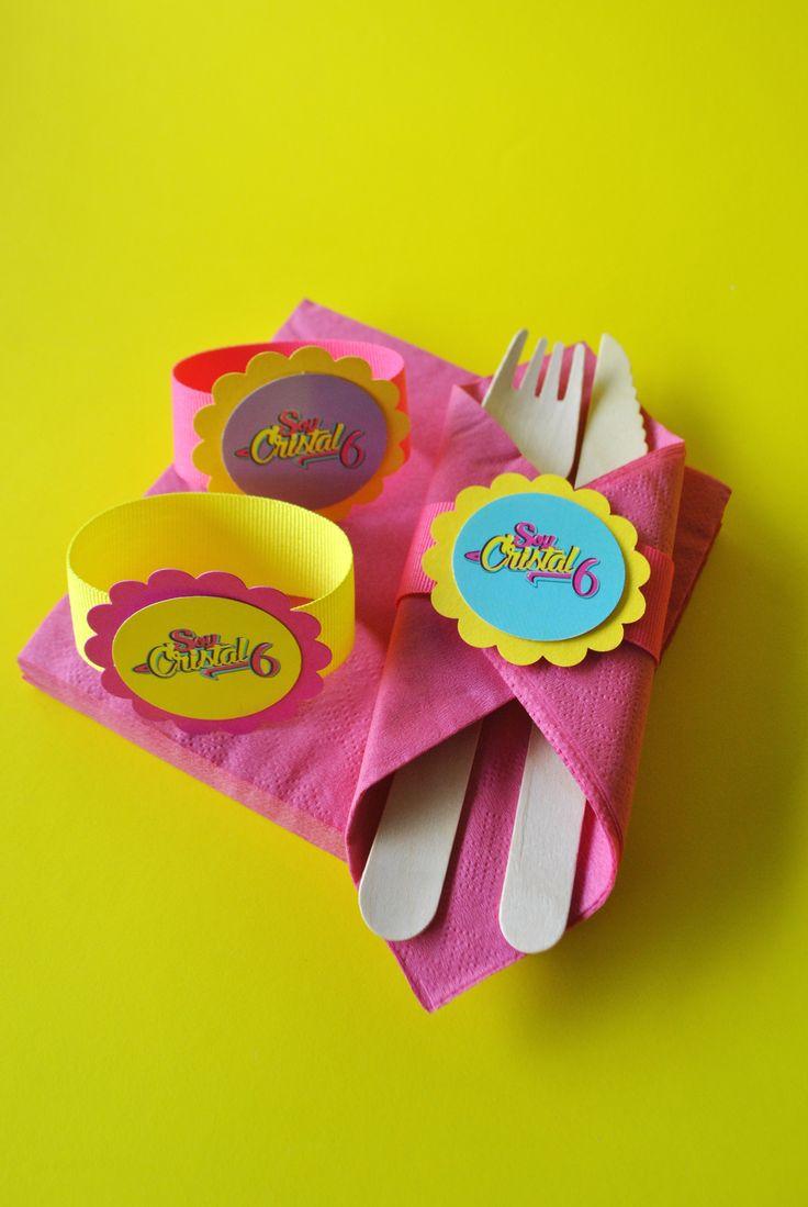 Servilleteros y cucharas eco-friendly #soylunaparty #partydecor #partyideas