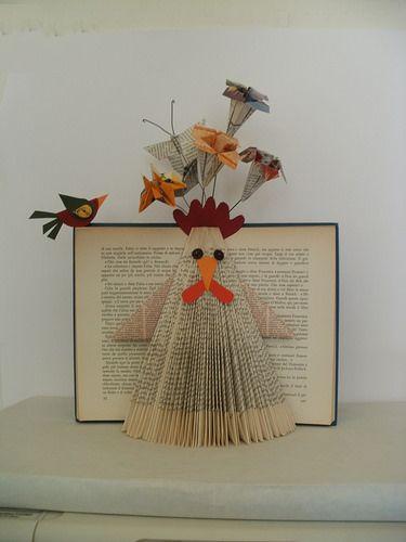 book sculpture by clara maffei