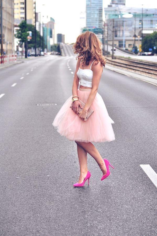 Shop this look on Kaleidoscope (skirt, top, pumps)  http://kalei.do/X0uiDDNWae6ErtjS