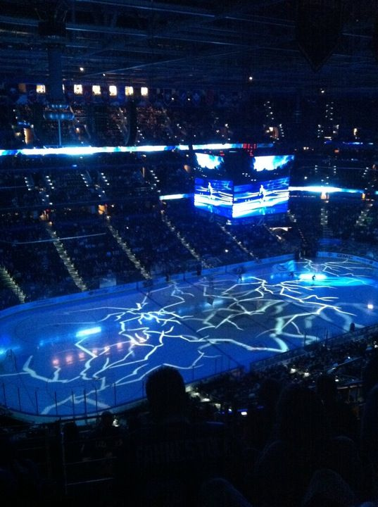 Where the Lightning dominate!  check out the bud light party deck!