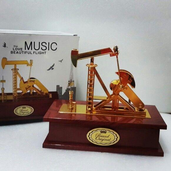 Kotak musik kilang minyak @135rb/pcs