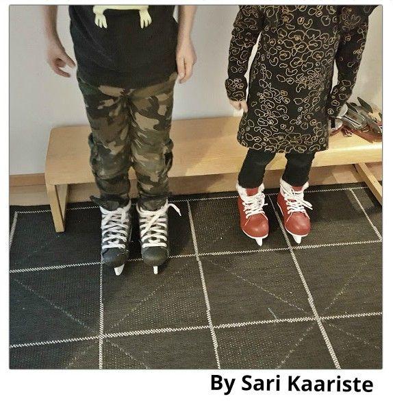 By Sari Kaariste, luistelu, luistelu harjoitukset, talvi, lasten harrastukset