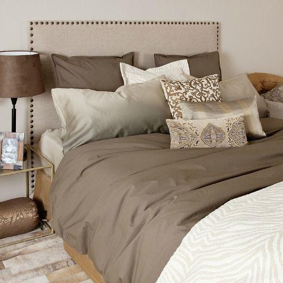 Slaapkamer in de kleur 'taupe' <3.