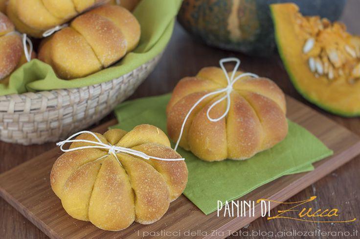 I panini di zucca sono dei picoli ma soffici lievitati dal gusto delicato e particolare della zucca, ma coloratissimi e simpatici per la loro forma.