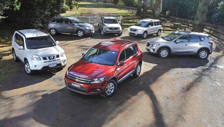 TMR 'Family SUV' Comparison Test