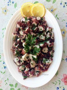 Insalata di polipo | Ricetta tradizionale siciliana | @vicaincucina