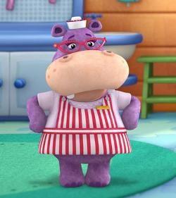 Hallie hippo