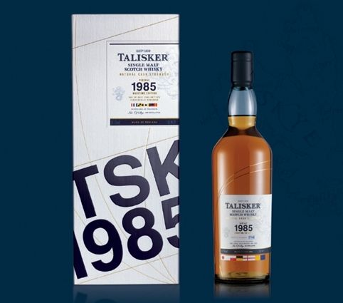 Bloom was briefed to create secondary and primary packaging for Talisker 1985 – a special 2 release from the Isle of Skye whisky distillery. The design draws on high-end yachting, with curved lines across the outer and bottle referencing latitude and longitude lines. Flag motifs make use of the 150-year-old International Maritime Signal flag system to spell out 'Talisker' and '1985'.