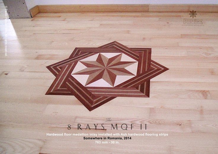 Decorative Floor Inlays : Best images about the hardwood floor medallion inlays