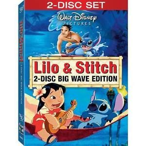Lilo and Stitch DVD, 2009, 2-Disc Set, Big Wave Edition Disney