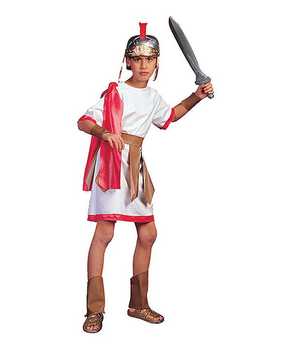 RG Costumes White u0026 Red Gladiator Dress-Up Outfit - Boys by RG Costumes #  sc 1 st  Pinterest & 28 best Diy roman boys costume images on Pinterest | Costume ideas ...