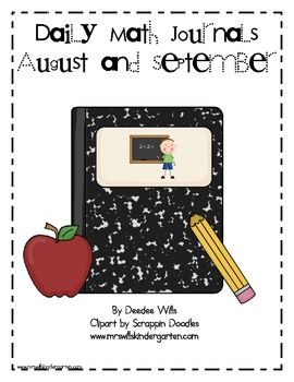 Daily Math Journals are a great way to review reinforce math concepts in a creative way.This download includes math journal labels, instruction...