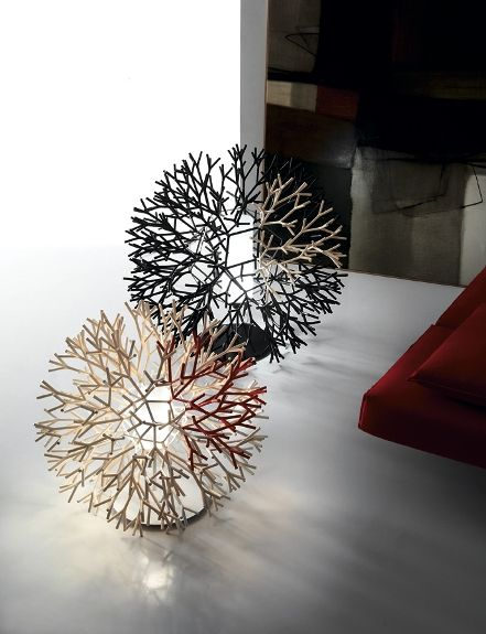 CORAL table lamp by PALLUCCO www.designinvaders.it