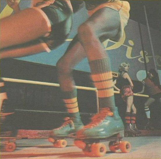 """Shake your groove thang""!!! Roller Skate Disco Dancing - Diva - 1970s 1980s - vintage roller skates - retro roller skates"