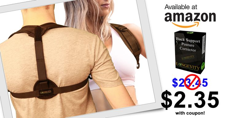 Looking for that Perfect Posture?  Get 90% off *plus free shipping* on our top selling Posture Corrector for Women and Men.  Check out our page for details on how to get your coupon TODAY!! https://www.longevitynaturalhealth.com/single-post/2018/01/13/Posture-Corrector-Offer