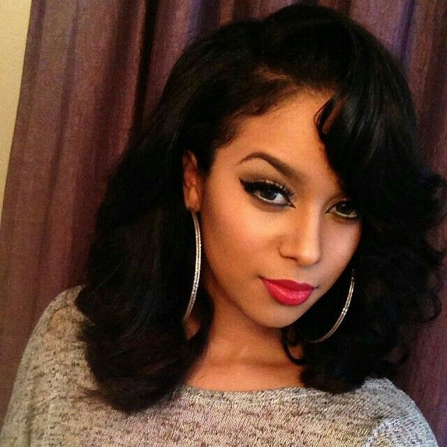 Shoulder Length Hairstyles For Pageants : Best 25 medium weave hairstyles ideas on pinterest fall hair