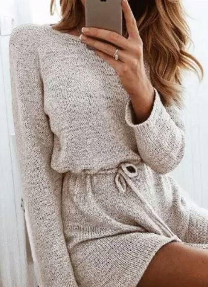 Sweater dress                                                                                                                                                                                 More