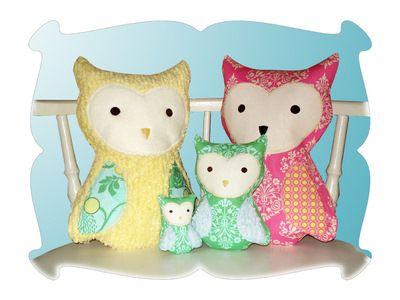 Whooty-Owl Softy - DigiStitches
