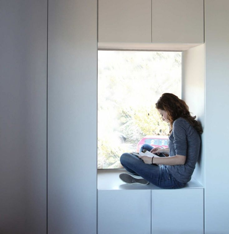 storage window wall [La Vall de Laguar House | Enproyecto Arquitectura]