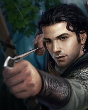 Satin is a recruit of the Night's Watch. He got his name from the brothel where he had been born and raised, and where he also worked as a whore. He is from Oldtown.